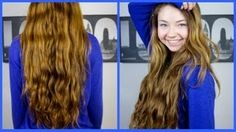 Heatless Hair Routine/How to grow your hair longer & faster!, via YouTube.