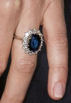 This is what I want. This is what I want.. A Princess Diana's blue oval sapphire ring surrounded by Diamonds.