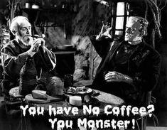 Coffee Love, Coffee Quotes, Halloween, Fictional Characters, Addiction, Food, Kaffee, Essen, Meals