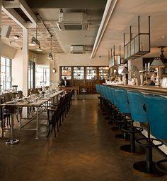 turquoise - The Riding House Café, London