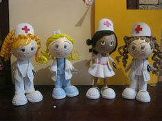 fofuchas enfermeras y doctora