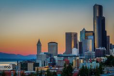 First lights on Seattle #PatrickBorgenMD