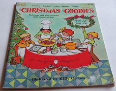 Vintage Children's Cook Book Christmas by QVintage on Etsy