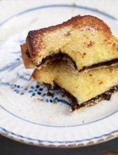 Nutella french toast.  I have just found my new vacation breakfast! Is it July yet?