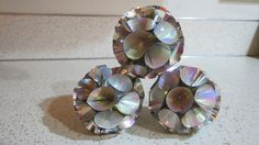 Set of Three Iridescent Silver Atomic Vtg Mid Century Christmas Ornaments Made in Japan - Kitschmas by AdoredAnew on Etsy