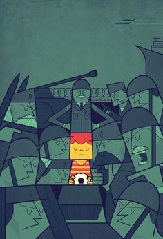 Wars on Demand by Ale Giorgini, via Behance