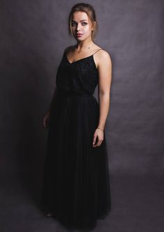 PROM DRESS tulle lace Maxi dress beautiful www.commondesign.pl