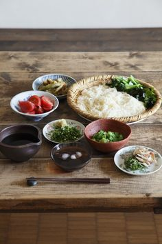 "Naomi Takayama home cooking creates a ""lunch of somen"" for us. Somen of new textures and new sensation is perfect for entertaining. *Somen is a kind of Japanese noodles."
