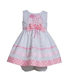 Bonnie Jean Eyelet Birthday Dress with BloomersYour little angel will look adorable in this pretty birthday dress.Bonnie Jean Little Girls Birthday Balloons Dress * Read more at the image link. Frocks For Girls, Toddler Girl Dresses, Little Girl Dresses, Girls Dresses, Dresses Dresses, Dance Dresses, Bebe 1 An, Balloon Dress, Bonnie Jean