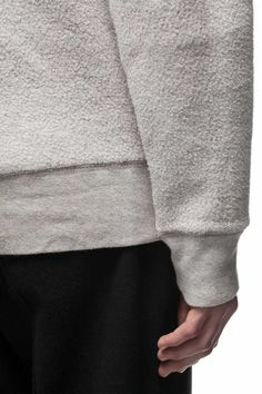 Our Legacy 50's Great Sweat Grey Cotton Fleece