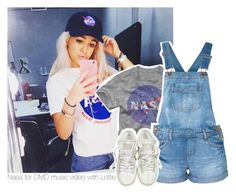 """Nasa for DMD music video with Lottie"" by stylistdirectioner ❤ liked on Polyvore featuring Converse"