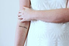 2 Live a little temporary tattoos - a temporary tattoo by Tattoorary