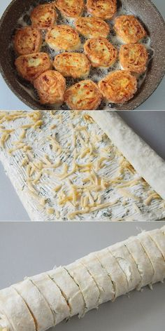 Fried pita rolls with cheese – Recipes Clean Recipes, Cooking Recipes, Cooking Games, Vegetarian Recipes, Healthy Recipes, Good Food, Yummy Food, Russian Recipes, Food Photo