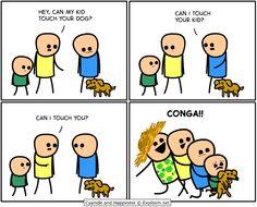 Cyanide and Happiness Conga