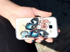 #case #butterfly #photo #etuo Elastyczny case do Samsung Galaxy Core Prime. Kolekcja Fantastic Case:)