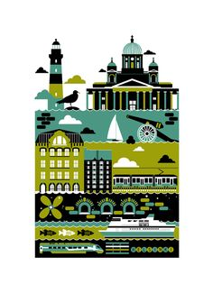 City Poster Series - koivo