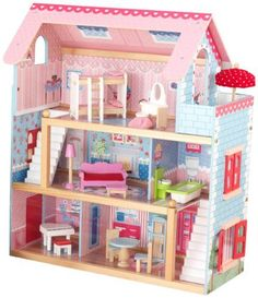KidKraft Chelsea Doll Cottage with Furniture KidKraft