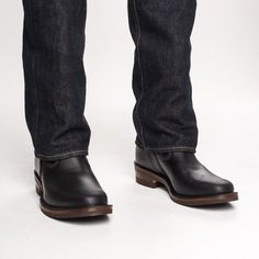 The Bootery/Wesco® - Boss Engineer - Black Domain Mens Redwing Boots, Red Wing Boots, Engineer Boots, Long Tops, Black Tie, Chelsea Boots, Shoe Boots, Boss, Footwear