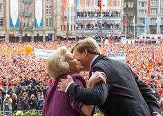 König Willem-Alexander und Prinzessin Beatrix (Quelle: dpa)