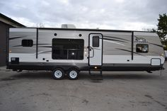INCREDIBLE TRAVEL TRAILER!!!  2016 Jayco Jay Flight 29RKS Coming in at 33' long, there is a private master bedroom for with a huge bed and access to the bathroom! Cook up amazing meals in your kitchen and eat around the dinette! Lounge in your awesome recliner chairs or on the couch for an evening of entertainment! Your 18' awning creates shade on sunny days for you to enjoy nature! Shipping weight is 6,790 pounds.  Call our Jay Flight expert Paul Gorney 989-889-1348