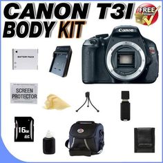 Canon EOS Rebel T3i 18 MP CMOS Digita... for only $432.19