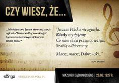 Najważniejsza pieśń każdego Polaka. Hymn Polski. Przepnij Pina! Pomóż nam promować ideę nowoczesnego patriotyzmu. Surge Polonia