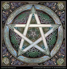 The Pentacle or Pentagram is the five-pointed star, a very ancient symbol used by many cultures in their magical rituals. Wiccan Beliefs, Wiccan Symbols, Celtic Symbols, Celtic Art, Egyptian Symbols, Ancient Symbols, Celtic Paganism, Wiccan Rede, Wiccan Art