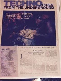 Techno. Underground. Detroit