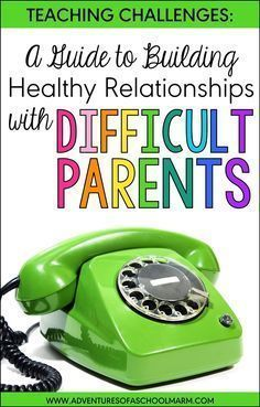 How to Build Relationships with Difficult Parents Do you need help building relationships with difficult parents? Try these proactive, actionable strategies that are specifically focused on teachers facing the challenges with parent communication. Parent Teacher Communication, Family Communication, Parent Teacher Conferences, Parent Involvement Ideas, Communication Activities, Parents As Teachers, New Teachers, Elementary Teacher, Elementary Schools