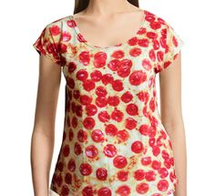 Pepperoni Pizza Slouchy Shirt