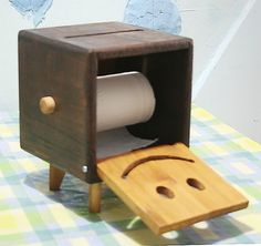 Paper towel box:For my family - by yao @ LumberJocks.com ~ woodworking community