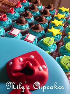 Toy Story cupcakes So cuute