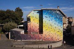 Calabria a colori. Dieci artisti, dieci superfici, dieci giorni. I graffiti che hanno trasformato le periferie di Catanzaro realizzati durante Alt!Rove Festival