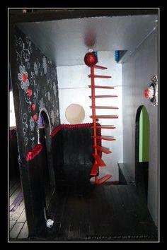 couloir de la maison monster high
