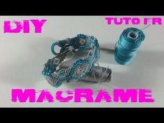 DIY - Tuto FR / Bracelet maillons en macramé - YouTube