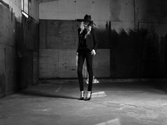 Saint Laurent Taps Julia Nobis for its Spring 2013 Campaign by Hedi Slimane