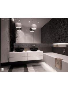 Monochromatyczna łazienka - zdjęcie od Aguzzi Studio Architektury