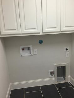 Classic Style Home:Dryer vent install into the wall - Dekoration Laundry Room Remodel, Basement Laundry, Small Laundry Rooms, Laundry Closet, Laundry Room Design, Laundry In Bathroom, Kitchen Remodel, Home Renovation, Home Remodeling