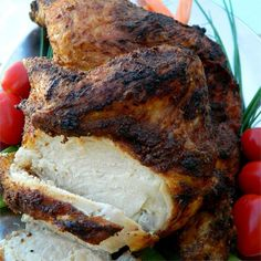 """Crispy Roasted Chicken 