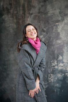 Пальто с капюшоном (с утеплителем)