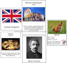 Materials for Continent Study of Europe