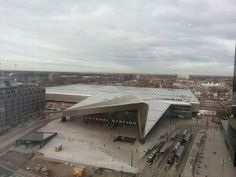 Centraal Station Rotterdam!