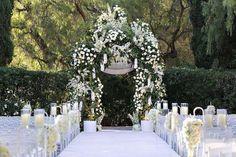 Gorgeous #wedding_ceremony