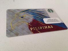 First Philippine Edition Starbucks Card