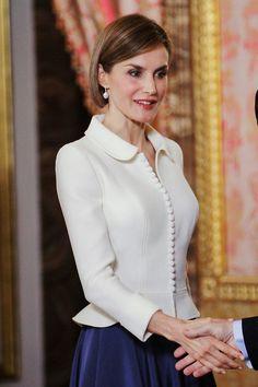 Queen Letizia of Spain 4/22/2015