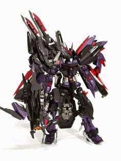 MG 1/100 Gundam Astray Violent Geist - Custom Build     Modeled by 아스트레이 바이올런스 가이스트