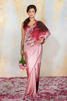 Blush Saree -Satya Paul