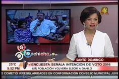 Encuesta Dice Que 65% De Población Volvería A Votar Por Danilo En 2016 #Video