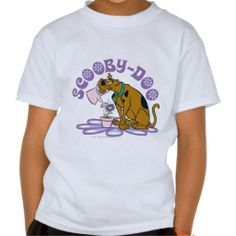 Scooby Doo Watering Flowers T-shirts (more styles available) #cartoon #shirt #cartoonshirt