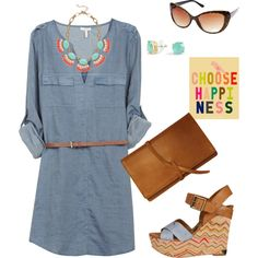"""""""CHOOSE HAPPINESS"""" by quesarasara on Polyvore"""